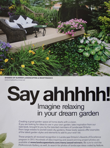 2013 Issue of Garden Inspiration Magazine