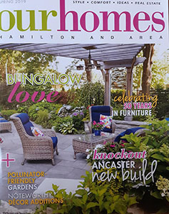 Our Homes Spring 2019 Cover - Hamilton & Area - Magazine